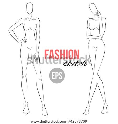 women's figure sketch