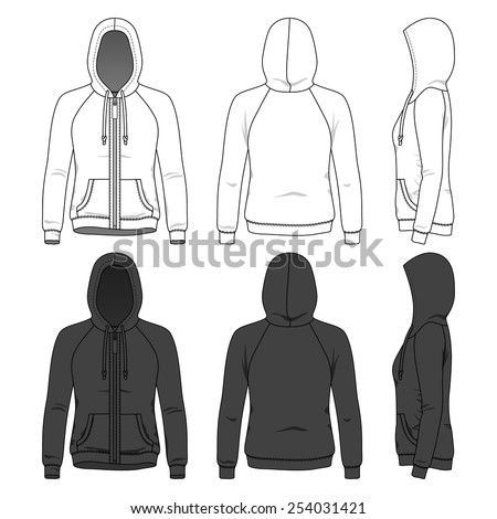 women's hoodie with zipper and