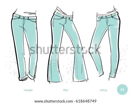 women's jeans fits denim wear