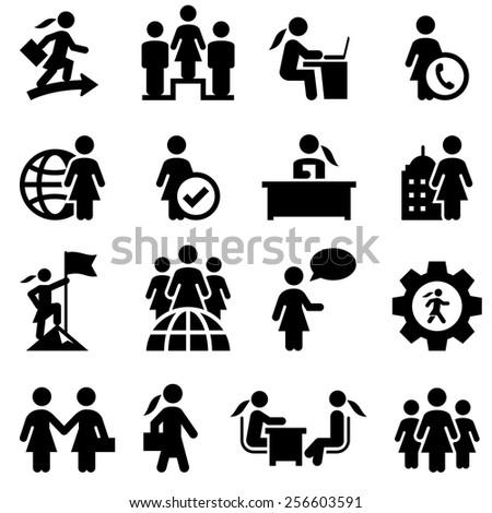 Women's Lib / Businesswomen icons