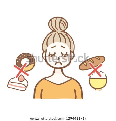 Women who are dieting Foto d'archivio ©