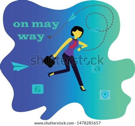women who are on their way to