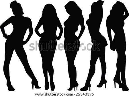 women, wonderful, elegance