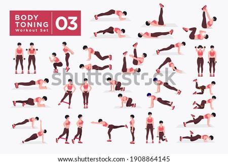women workout set women doing