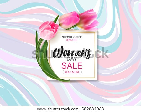 womens day background with