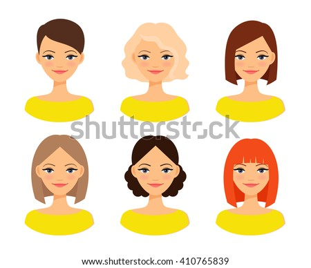 womens faces woman with