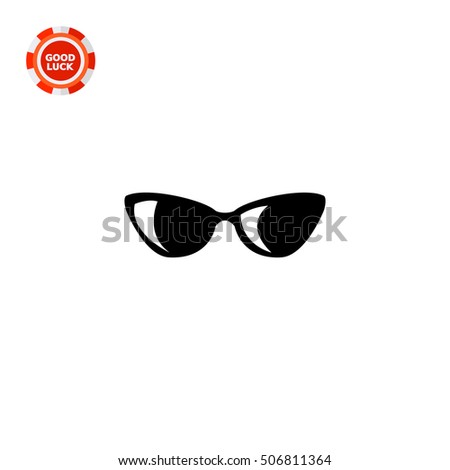 womens sunglasses icon