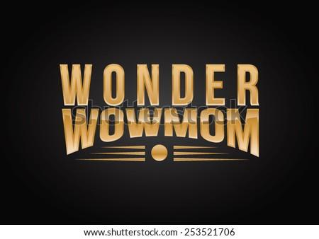 wonder wow mom logo
