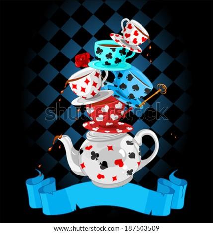wonderland mad tea party