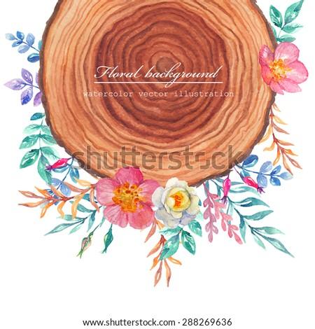 wood and briar watercolor