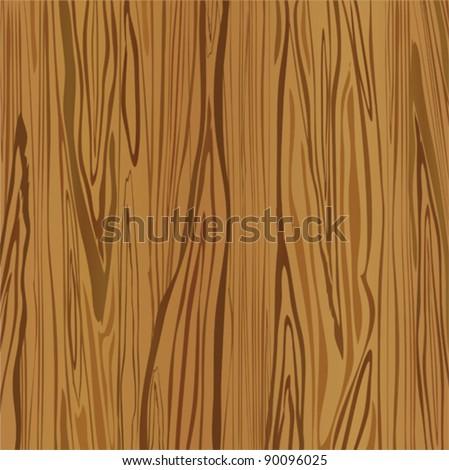 Wood brown background. Vector