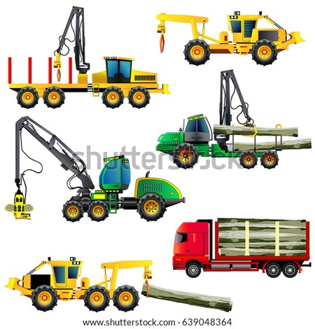 wood cutting industry equipment