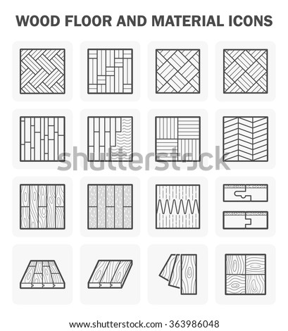 wood floor and material vector