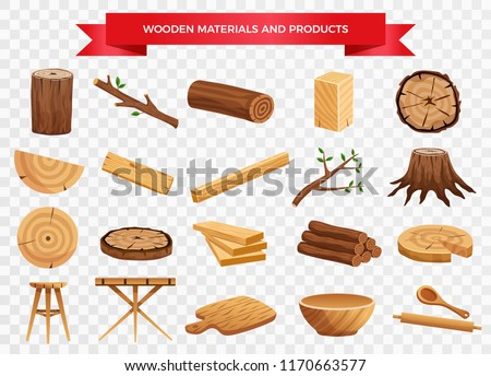 wood material and manufactured