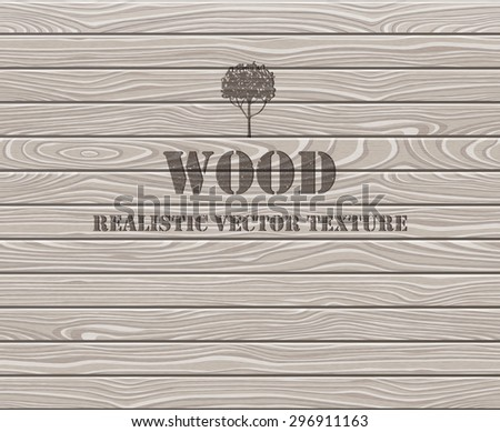 Wood texture. Aged oak planks background. EPS 10 vector illustration.
