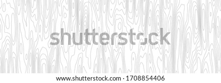 Wood texture imitation, black lines on white background, vector design, banner