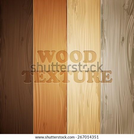 wood texture set  vector eps10