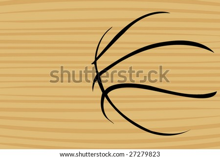 wooden basketball background