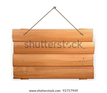 Wooden board, 10eps