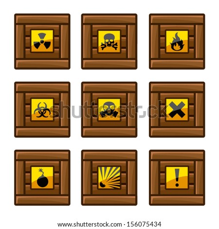 stock-vector-wooden-crates-with-danger-s