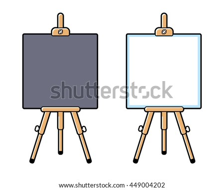 painting easel download free vector art stock graphics images