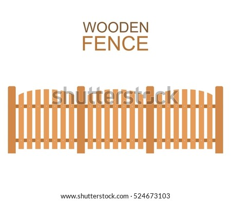 white laminate fence picket fence vector shapes download free vector art stock