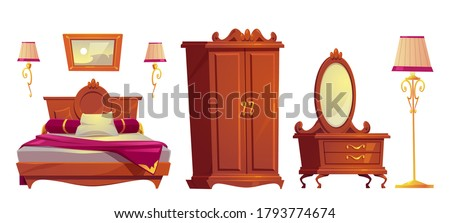 wooden furniture for old luxury