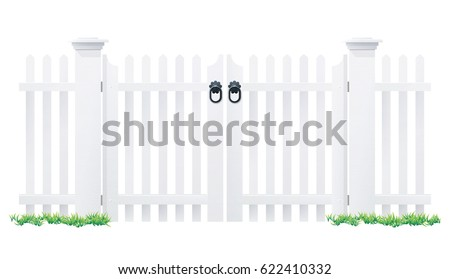 Variation Of Picket Fence Vectors - Download Free Vector Art, Stock ...