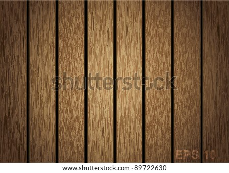 Wooden panel seamless background. vector illustration