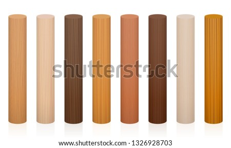 wooden posts collection of
