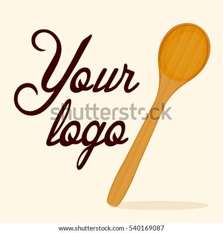 Wooden Spoon vector