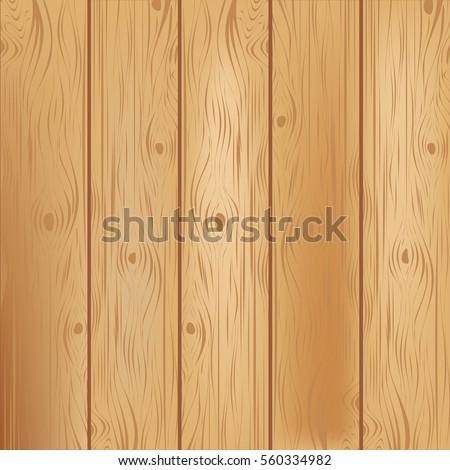Wooden texture background. Vector illustration