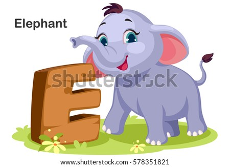 Colorful elephants download free vector art stock graphics images wooden textured bold font alphabet e e for elephant thecheapjerseys Gallery
