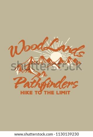 woodlands pathfinder handmade
