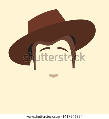 woody toy story brown vector