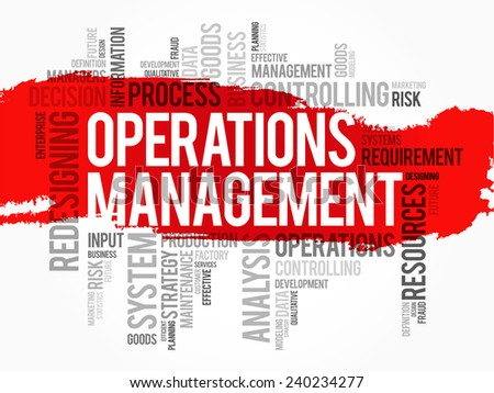 operational management sainsbury s Read operations management free essay and over 88,000 other research documents operations management introduction this report will show how sainsburys have used performance management to increase their ability to provide a quality service.