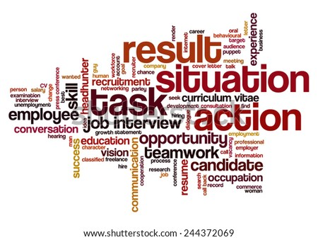 situation task action result resume examples