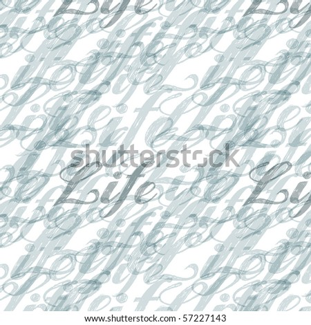 word life abstract and blur pattern