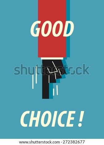 words good choice