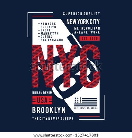 words urban denim style graphic design t shirt vector illustration for ready print