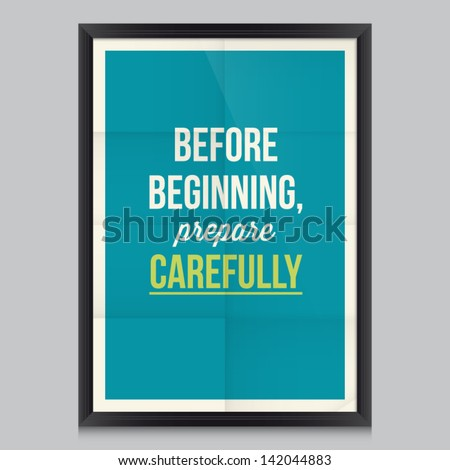 Work quote poster by Cicero Effects poster frame colors background and colors text are editable Ideal for print poster card shirt mug