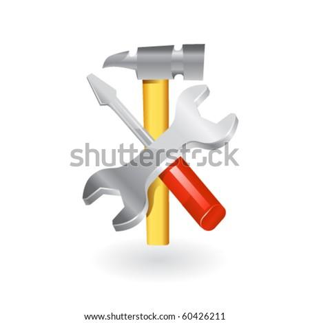 Work tools icon.