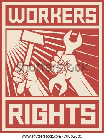 workers rights poster