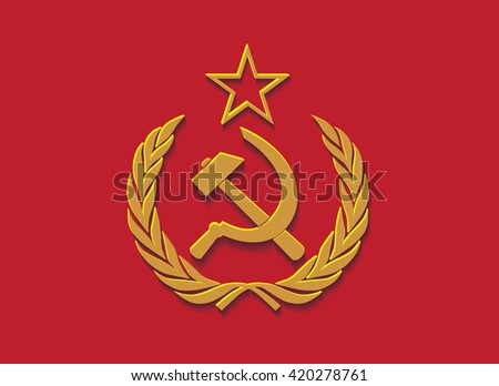 workers unite hammer and sickle