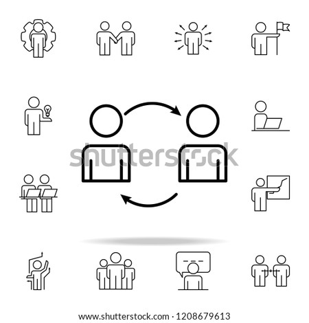 workflow icon. Business Organisation icons universal set for web and mobile #1208679613