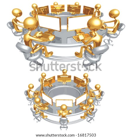 Workgroup - stock vector