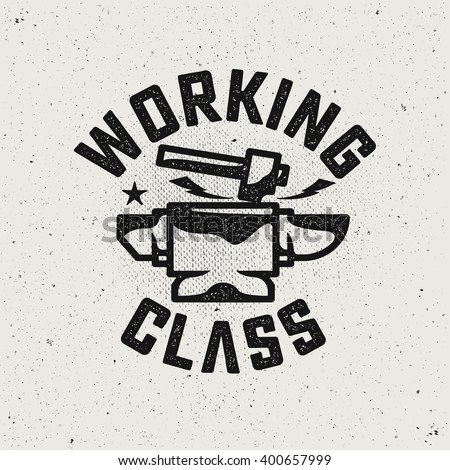 working class logohammer and