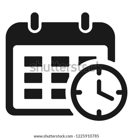 working schedule icon