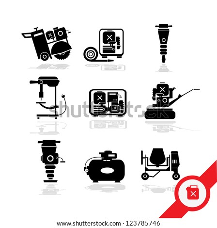 Working tools icon set 3