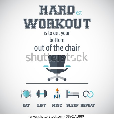 workout and fitness gym